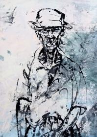 P_Japanese homeless art portrait_Geoff Read